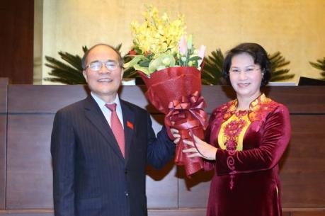 Bà Nguyễn Thị Kim Ngân trúng cử Chủ tịch Quốc hội, Chủ tịch hội đồng bầu cử quốc gia