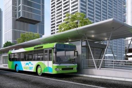 Dự án xe buýt nhanh của Hà Nội lại chậm tiến độ