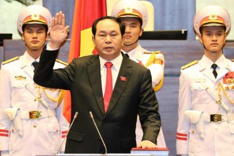 Ông Trần Đại Quang trúng cử chức vụ Chủ tịch nước