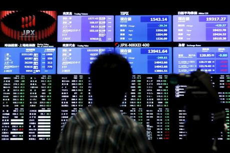 Chứng khoán châu Á ngày 4/4: Thị trường Nhật Bản giảm phiên thứ 5 liên tiếp
