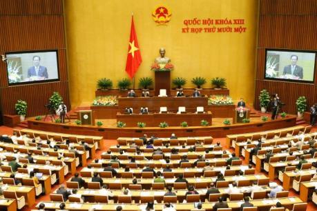 Quốc hội hoàn thành kiện toàn nhân sự cấp cao
