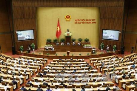 Trình Quốc hội phê chuẩn miễn nhiệm hai Phó Thủ tướng và một số thành viên Chính phủ