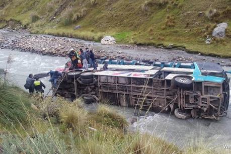 Tai nạn thảm khốc tại Peru