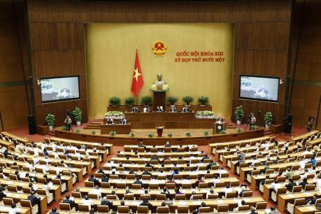 Phê chuẩn đề nghị bổ nhiệm 3 Phó Thủ tướng, 18 Bộ trưởng và thành viên Chính phủ