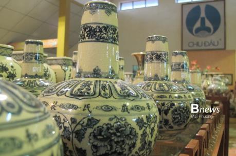 Phát triển nghề truyền thống gốm Chu Đậu