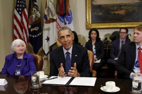 Giới chức Mỹ thảo luận triển vọng kinh tế và cải cách Phố Wall
