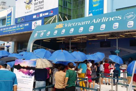 Vienam Airlines tham gia Hội chợ Du lịch Quốc tế Việt Nam 2016