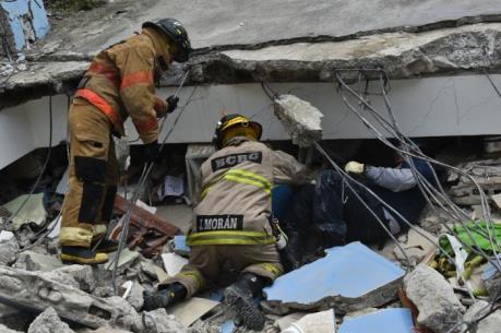 Ecuador lại rung chuyển vì động đất 6,2 độ Richter