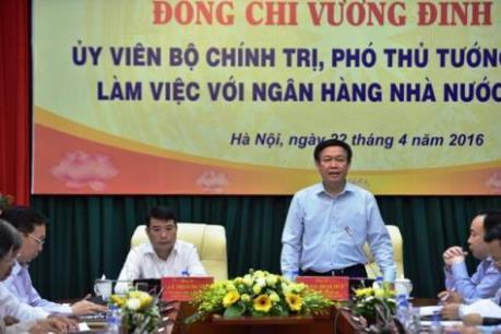 Phó Thủ tướng Vương Đình Huệ: Công khai, minh bạch về nợ xấu và kết quả xử lý