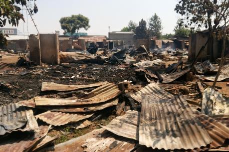 Lâm Đồng: Hàng chục gia đình mất nhà ở vì hỏa hoạn