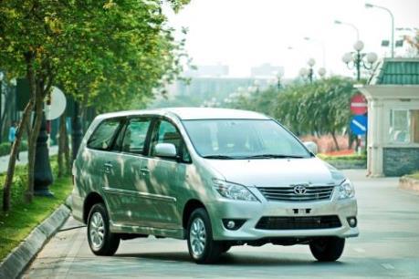 Toyota Việt Nam triệu hồi gần 800 xe Innova dính lỗi