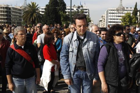 Nhân viên ngành truyền thông Hy Lạp đình công phản đối cải cách hệ thống lương hưu