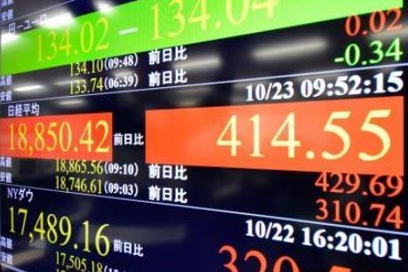 Thị trường chứng khoán châu Á-Thái Bình Dương biến động trái chiều