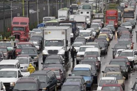 Giao thông tại Mexico City tắc nghẽn nhất thế giới