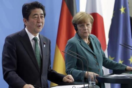 Thủ tướng Đức và Nhật chưa đồng thuận về biện pháp kích thích kinh tế toàn cầu