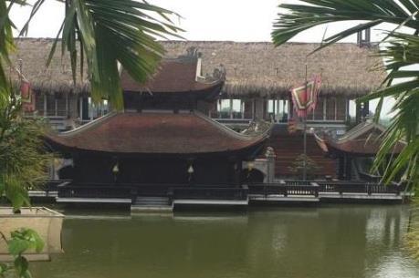 Một loạt sai phạm tại Dự án Làng văn hoá du lịch và ẩm thực Nắng sông Hồng