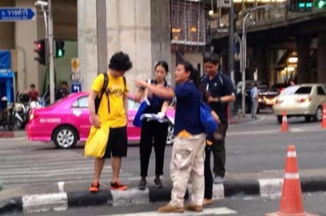 Nổ bom tại nhà ga trung tâm ở thủ đô Bangkok