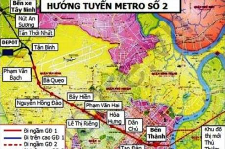 Lựa chọn nhà thầu DA đường sắt đô thị Bến Thành-Tham Lương
