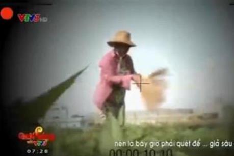 """Xử phạt VTV vụ phóng sự """"Cây chổi quét rau"""""""