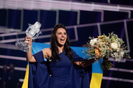 Ca sĩ Ukraine giành chiến thắng tại Eurovision 2016