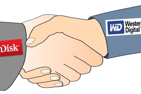 Western Digital sẽ mua lại SanDisk trong quý IV