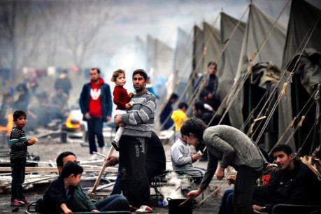 Số người di cư vì chiến tranh trên thế giới lên tới 40 triệu người