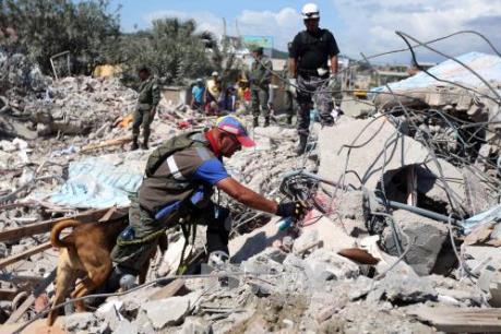 Lại xảy ra động đất mạnh tại Ecuador