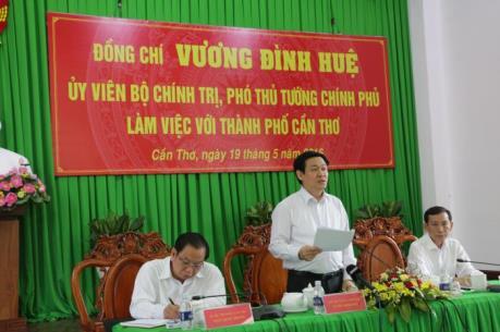 Phó Thủ tướng Vương Đình Huệ: Cần Thơ phải đi đầu trong công tác khởi nghiệp