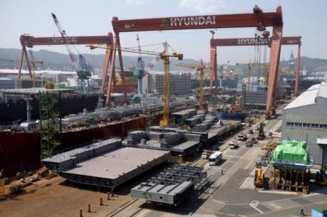 Ngành đóng tàu Hàn Quốc đối diện khủng hoảng