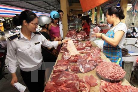 Phú Thọ phát hiện nhiều mẫu thịt không đạt tiêu chuẩn