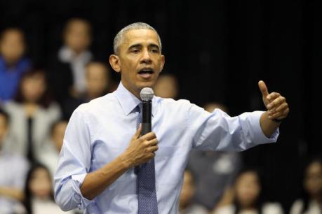Tổng thống Obama chia sẻ bí quyết thành công với thủ lĩnh trẻ Việt Nam