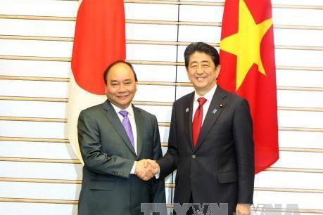 Thủ tướng Nguyễn Xuân Phúc đã về đến Việt Nam sau khi dự nhiều sự kiện lớn ở Nhật Bản