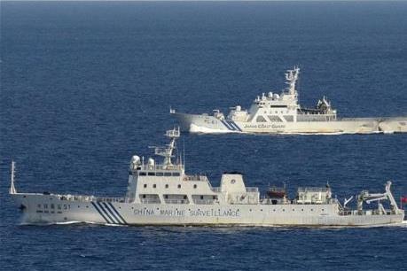 Bốn tàu Trung Quốc đi vào vùng biển tranh chấp với Nhật Bản