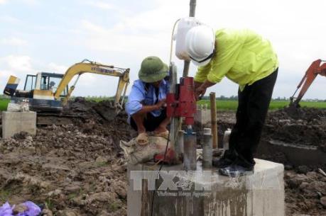 Thông tin chính thức về móng trụ đường dây 220 kV Trực Ninh- Nam Định