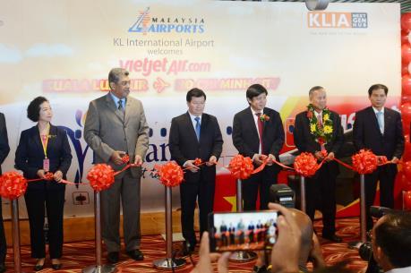 Vietjet khai trương đường bay Tp. Hồ Chí Minh - Kuala Lumpur