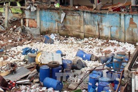 Lập đoàn công tác hỗ trợ khám nghiệm hiện trường vụ nổ trên đảo Phú Quý