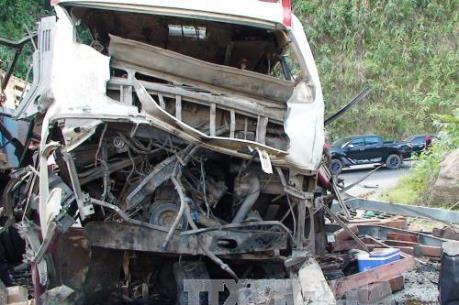Vụ nổ xe khách tại Lào: Xác nhận được danh tính nạn nhân thứ 8 thiệt mạng