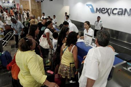 Du lịch quốc tế bằng đường không đến Mexico tăng mạnh