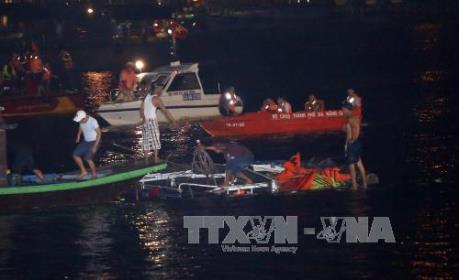 Đà Nẵng: Khởi tố vụ án chìm tàu trên sông Hàn