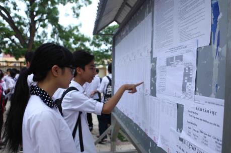 Thời gian thi trung học phổ thông quốc gia năm 2017 sẽ đẩy lên sớm hơn