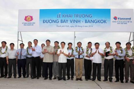 Khai trương đường bay Vinh - Bangkok với mức giá tốt nhất thị trường