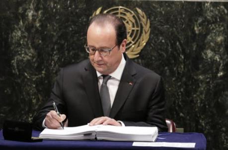 Pháp phê chuẩn Hiệp định Paris về biến đổi khí hậu