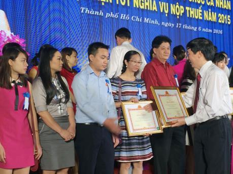Tp. Hồ Chí Minh vinh danh hơn 1.200  tổ chức, cá nhân nộp thuế tốt