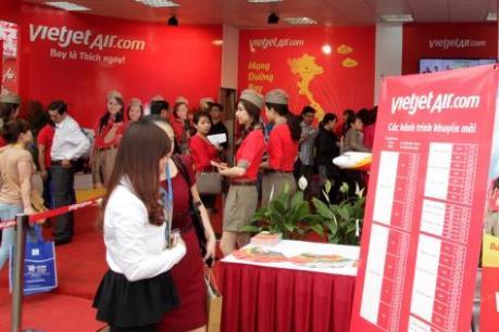 Vietjet bán vé 0 đồng tại Hội chợ Du lịch quốc tế Đà Nẵng 2016
