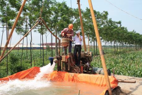 Hưng Yên: Xử phạt doanh nghiệp khai thác nước ngầm trái phép