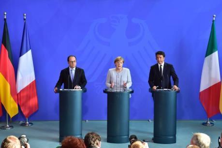Đức, Pháp, Italia nhất trí EU cần thay đổi sau Brexit