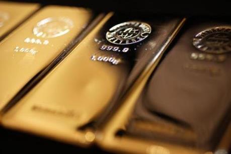 Giá vàng thế giới ở gần mức cao nhất trong một tháng