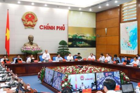 Thủ tướng chủ trì họp trực tuyến với các địa phương về kinh tế - xã hội