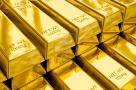Vàng thế giới rời mức cao nhất gần hai năm