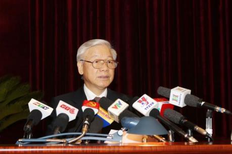 Phát biểu khai mạc của Tổng Bí thư tại Hội nghị lần thứ ba BCHTW Đảng khóa XII